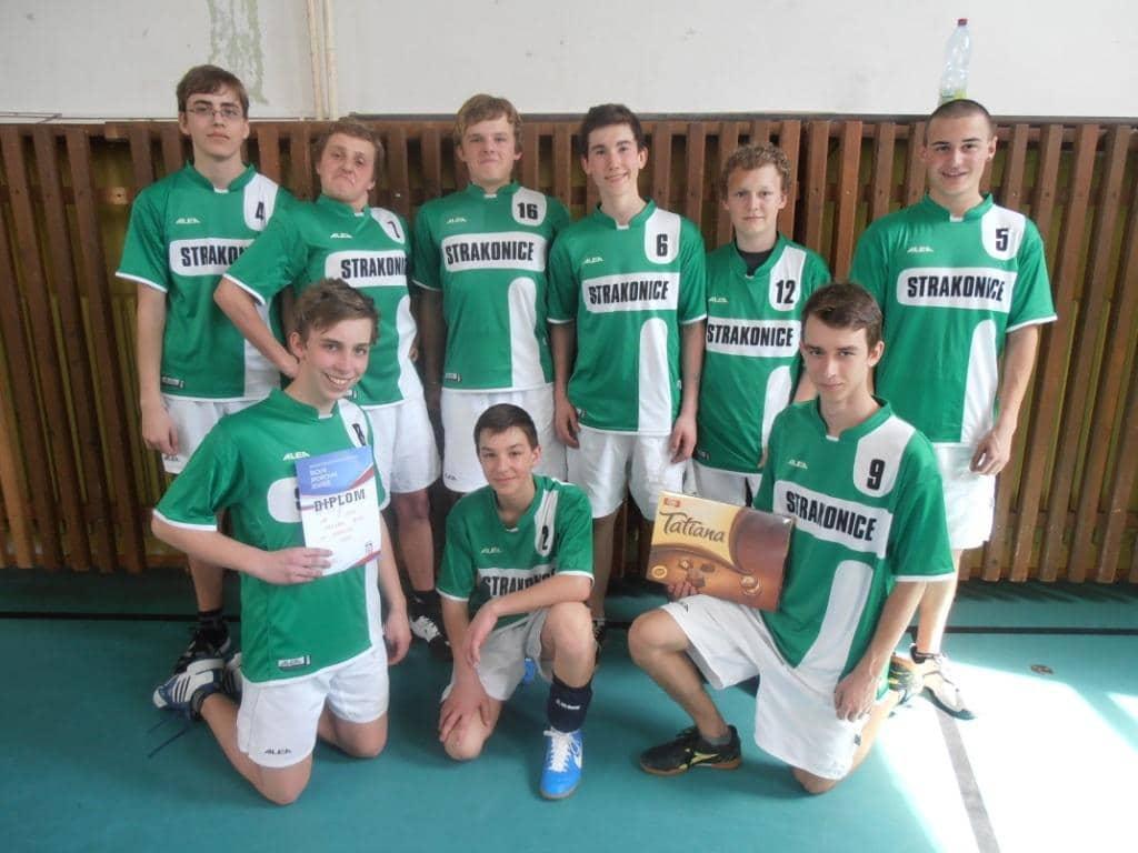 Volejbalový tým chlapců 2012/2013